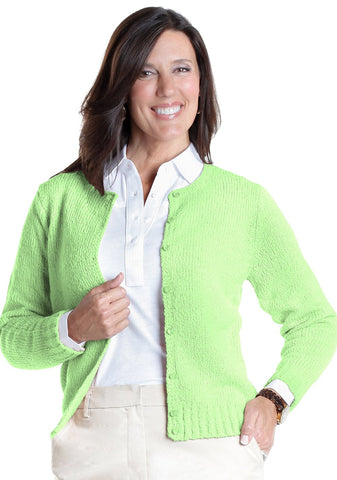 America's Favorite Cardigan</br>Spearmint 751