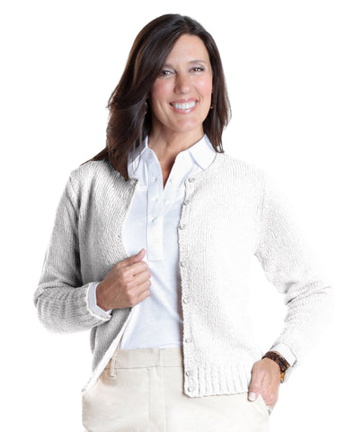 America's Favorite Cardigan White 000