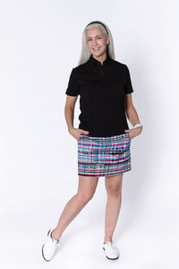 Print Q-Skirt Broken Plaid CW1