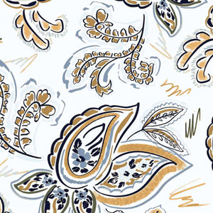 Print Q-Skirt Brown Sugar Paisley CW3
