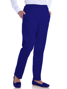 Petite Stretch Twill Pull-On Pant Admiral 480 - Leonlevin