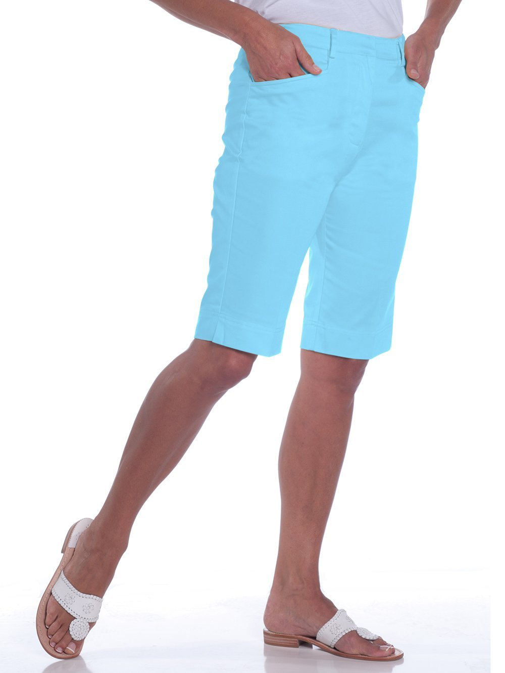 L-Pocket Bermuda Shorts</br>Atlantis  091