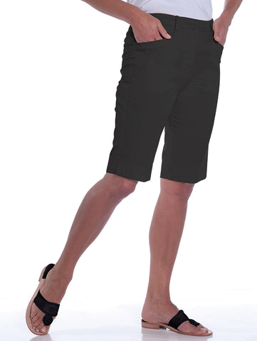 L-Pocket Bermuda Shorts | Black 090 - Leonlevin