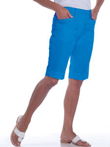 L-Pocket Bermuda Shorts</br>Bright Admiral 20C - Leonlevin