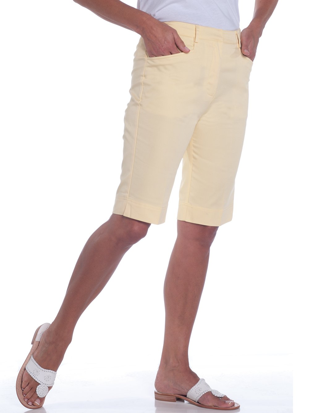 L-Pocket Bermuda Shorts | Lemonade 509 - Leonlevin