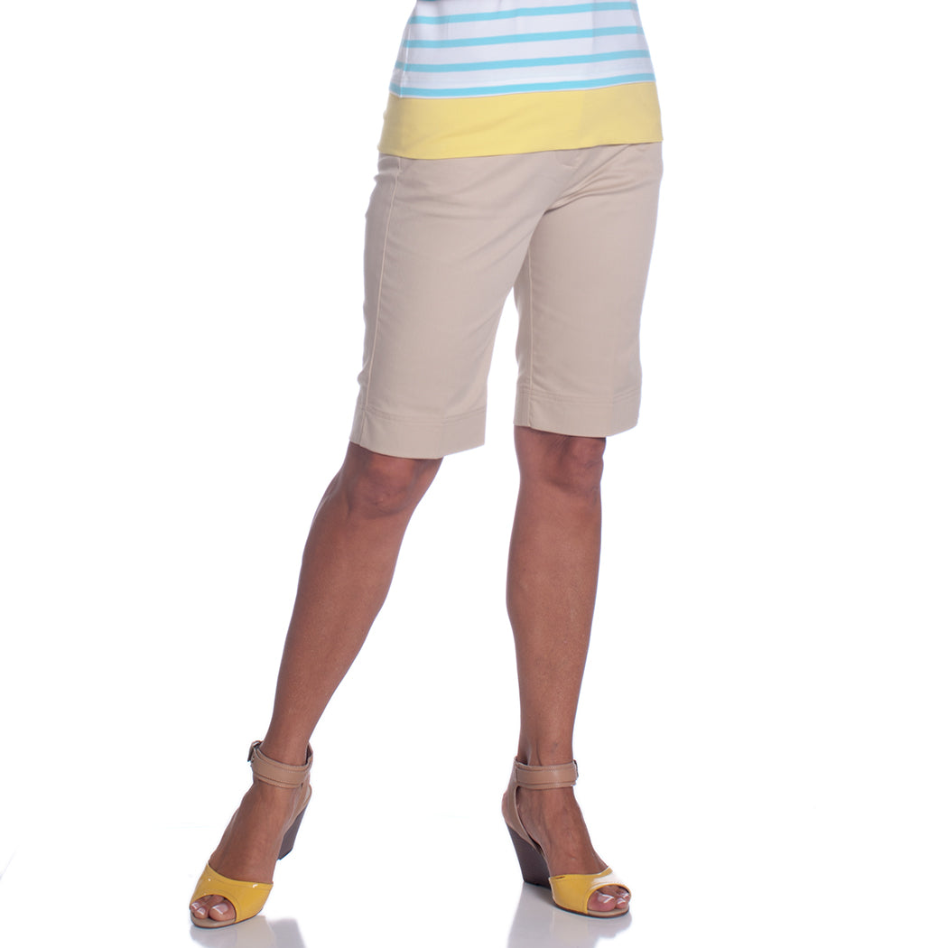 L-Pocket Bermuda Shorts</br>Sand S50