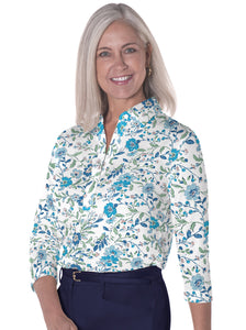 Three Quarter Sleeve Print Polo</br>Eazy Breezy 20R
