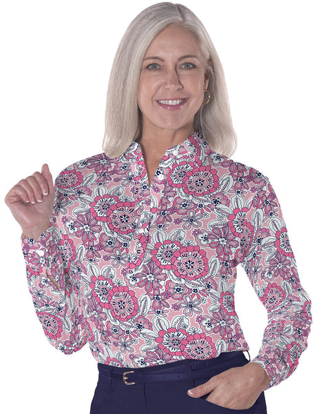 Long Sleeve Print Polos</br>Toss Up 16F - Leonlevin