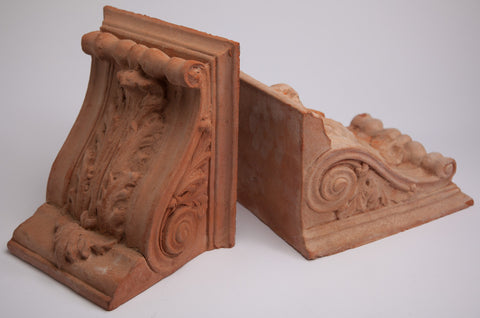 Architectural Terracotta Bookends