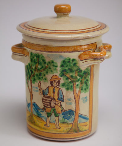 Ceramic Container with Lid