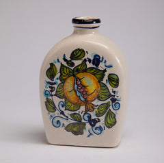 Hand Painted Ceramic Bottle