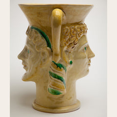 Etruscan King and Queen Vase - 0352