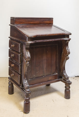 Indian Teak Writing Desk IND-2