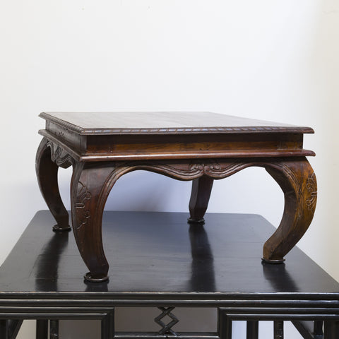 India Hand Carved Coffee Table