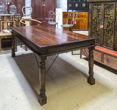 Carved Wooden Dining Table