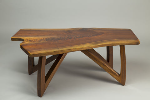 Black Walnut Crotch Coffee Table