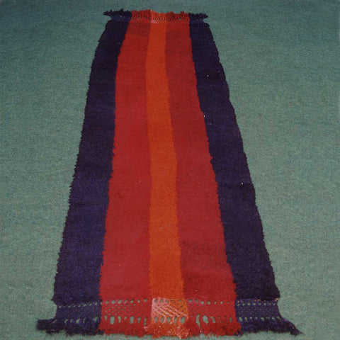 Afghan Loosely-piled Rug - IB-R003091