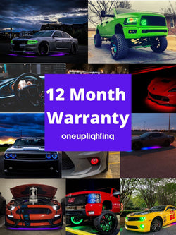 12 Month Limited Lifetime Warranty | ONEUPLIGHTING - Oneuplighting