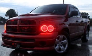 Dodge Ram 2006-2008 RGB Halo Headlights | ONEUPLIGHTING - Oneuplighting