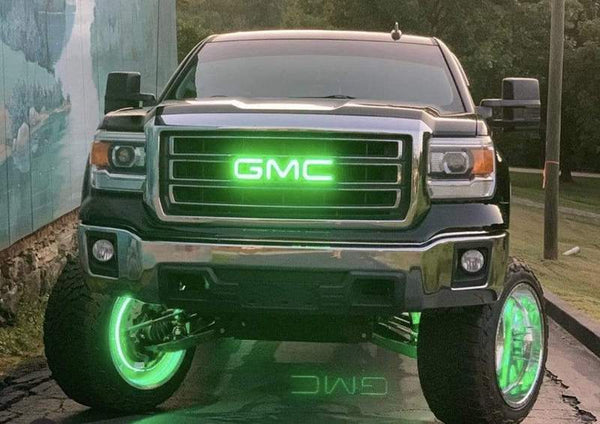 GMC Grill Emblem | LED GMC Emblem | ONEUPLIGHTING - Oneuplighting