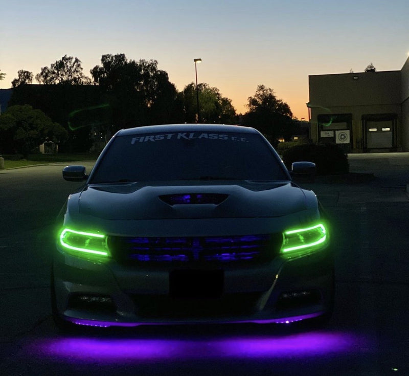 Dodge Charger 2015-2018 RGBW DRL Boards | ONEUPLIGHTING - Oneuplighting