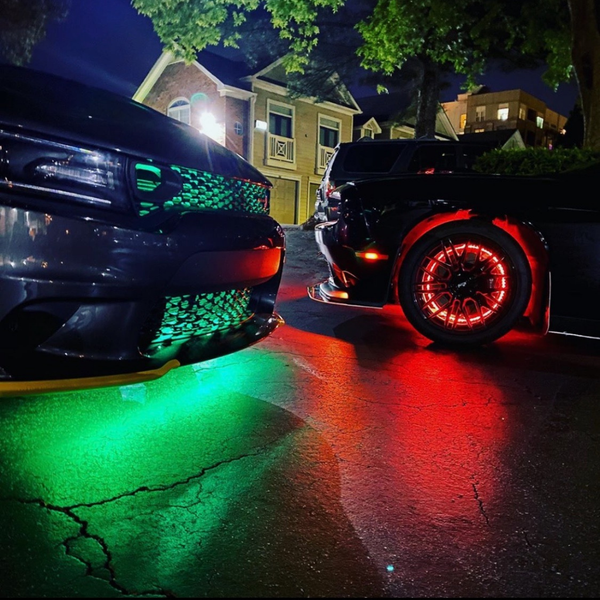 WheelGlow-X | LED Wheel Lights | ONEUPLIGHTING - Oneuplighting