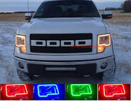 Ford F150 2009-2014 RGB Halo Headlights | ONEUPLIGHTING - Oneuplighting