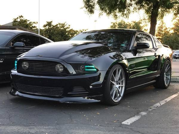 2013-2014 Ford Mustang RGBW LED DRL Boards | ONEUPLIGHTING - Oneuplighting