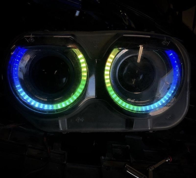 Universal Halo Kit | RGBW Color Chasing Fog Light Halos | ONEUPLIGHTING - Oneuplighting