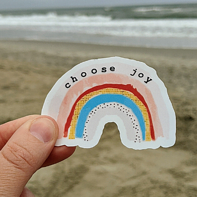 Choose Joy (rainbow)