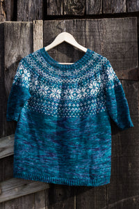 Colorwork Sweaters from Bad Wolf Girl Designs