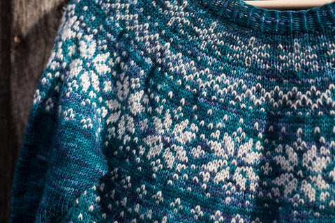 Frozen Fractal Sweater