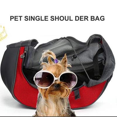 DOG FRONT SIDE SHOULDER BAG