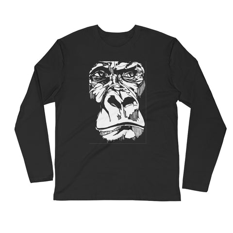 The Ape: Unisex Long Sleeve T-shirt