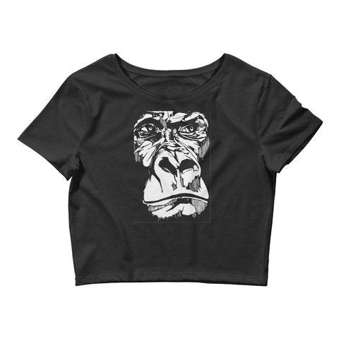 The Ape: Women's Crop Tee