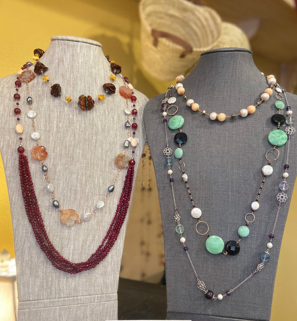 French Necklaces and Jewelry