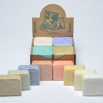 French Square Cello Soap 100g - Pick your scent