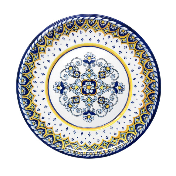 Sorrento 12 piece Melamine Dinnerware Set (dinner plate, salad plate and small bowl)