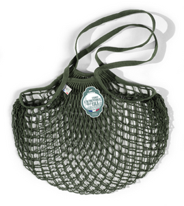 Olive Green Medium Net Bag