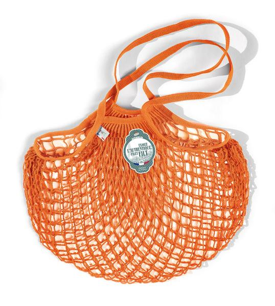 Orange Medium Net Bag