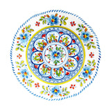 Madrid White 12 piece Melamine Dinnerware Set (dinner plate, salad plate and small bowl)