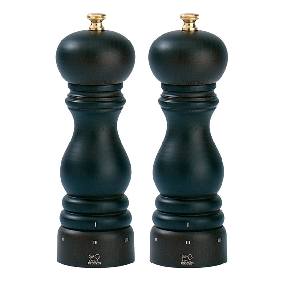 Paris Chocolate Salt & Pepper Mills Set by Peugeot