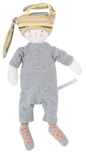 "Nin-Nin the Rabbit 14"" French Stuffed Animal"