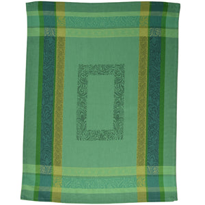 "Bargeme Green 20""x28"" Jacquard Dishtowel"