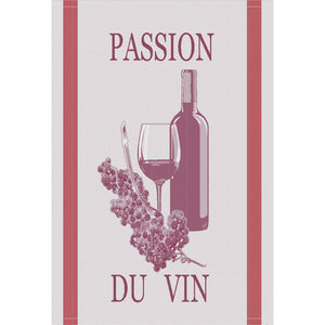 "Passion du Vin Bordeaux 20""x28"" Jacquard Dishtowel"