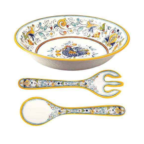 Florence Salad Bowl and Server Set