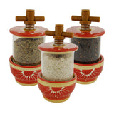 Sun Ceramic Herb Grinder - Choose your filling