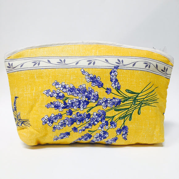 Valensole Yellow Cotton Makeup Bags 10