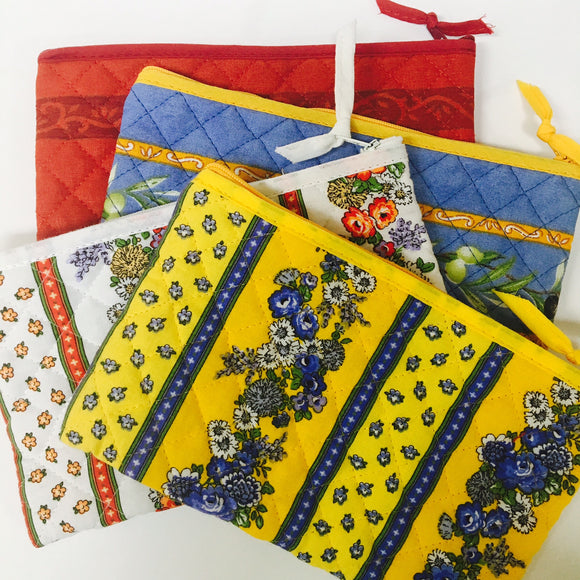 Quilted Makeup Bags 8