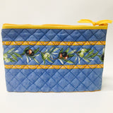 "Quilted Makeup Bags 8""x5"" - pick your pattern"